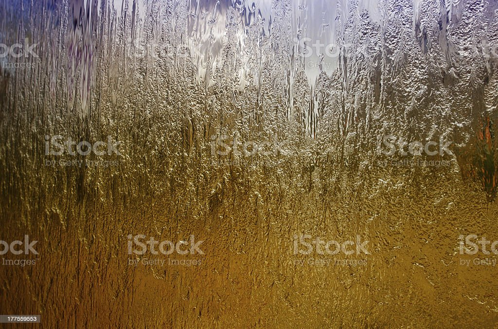 abstract light and water royalty-free stock photo