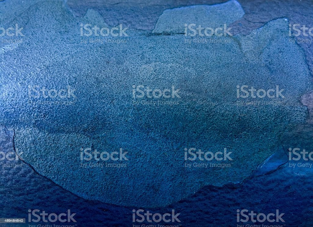 Abstract light blue painted chipped background royalty-free stock photo