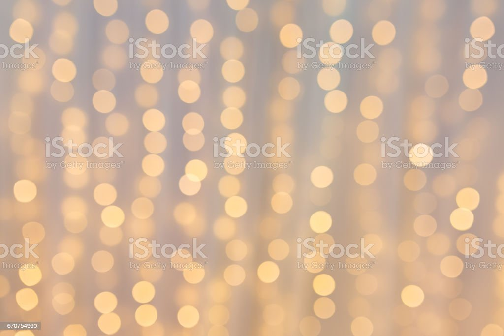 Abstract light circular bokeh background. stock photo