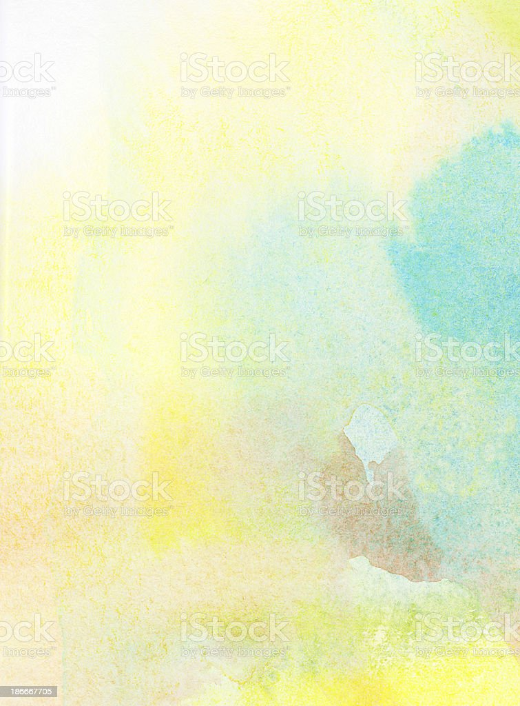 Abstract light colorful watercolor background stock photo