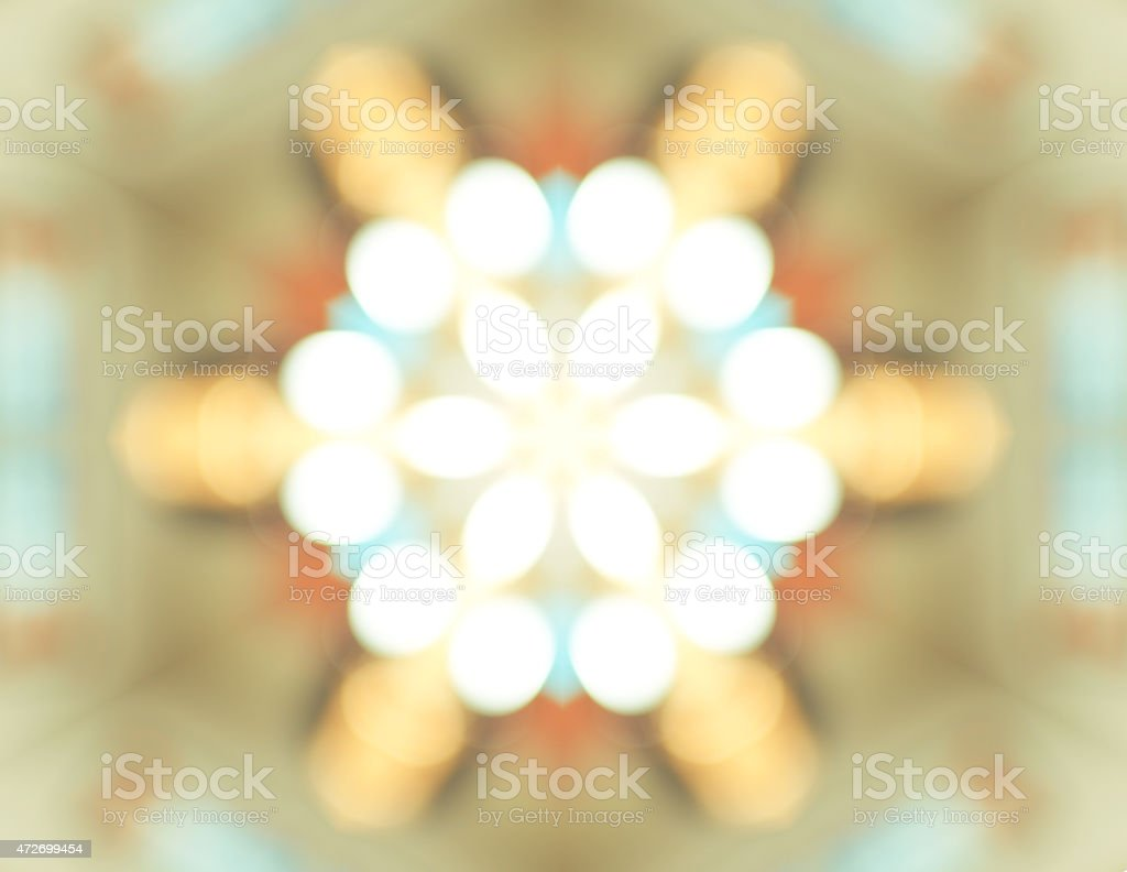 Abstract light Kaleidoscope,Texture background,Bokeh lighting, p stock photo