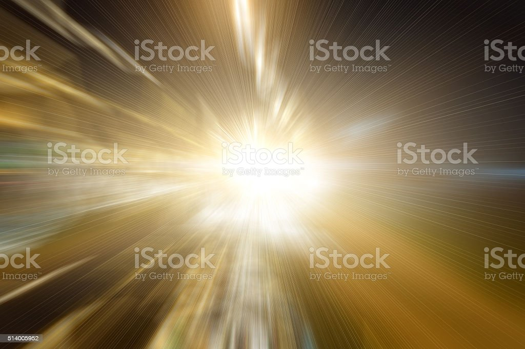 Abstract light Motion and Speed Effects stock photo