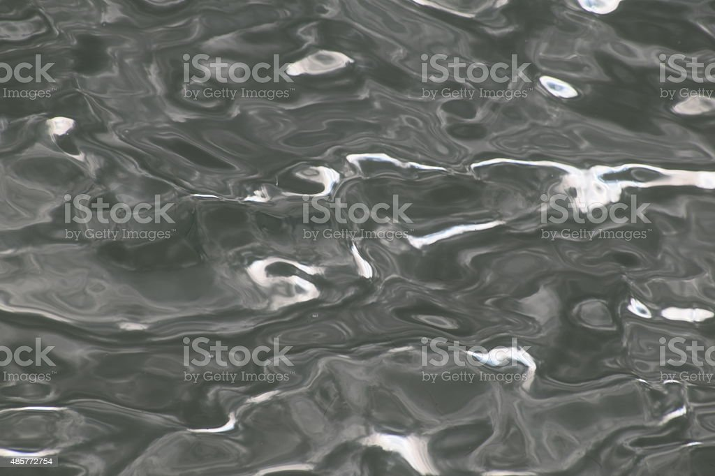 Abstract light on the sea royalty-free stock photo