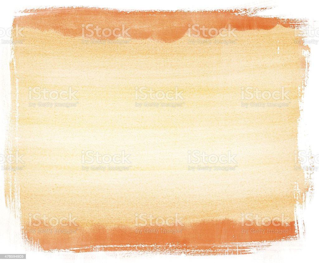 abstract light orange watercolor background royalty-free stock photo