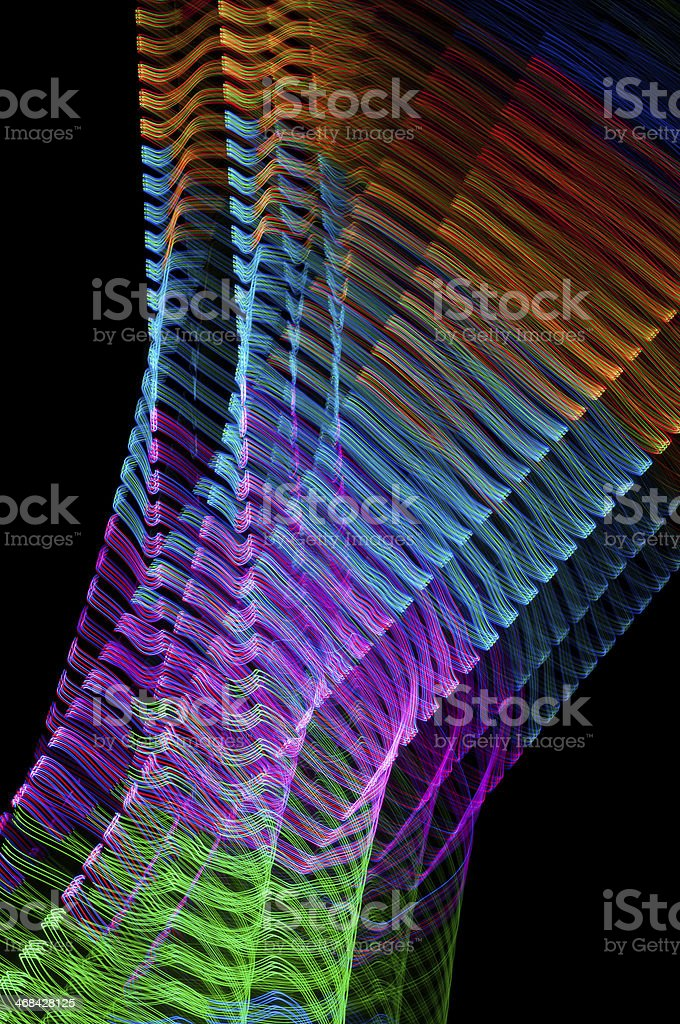 Abstract Light Pattern royalty-free stock photo