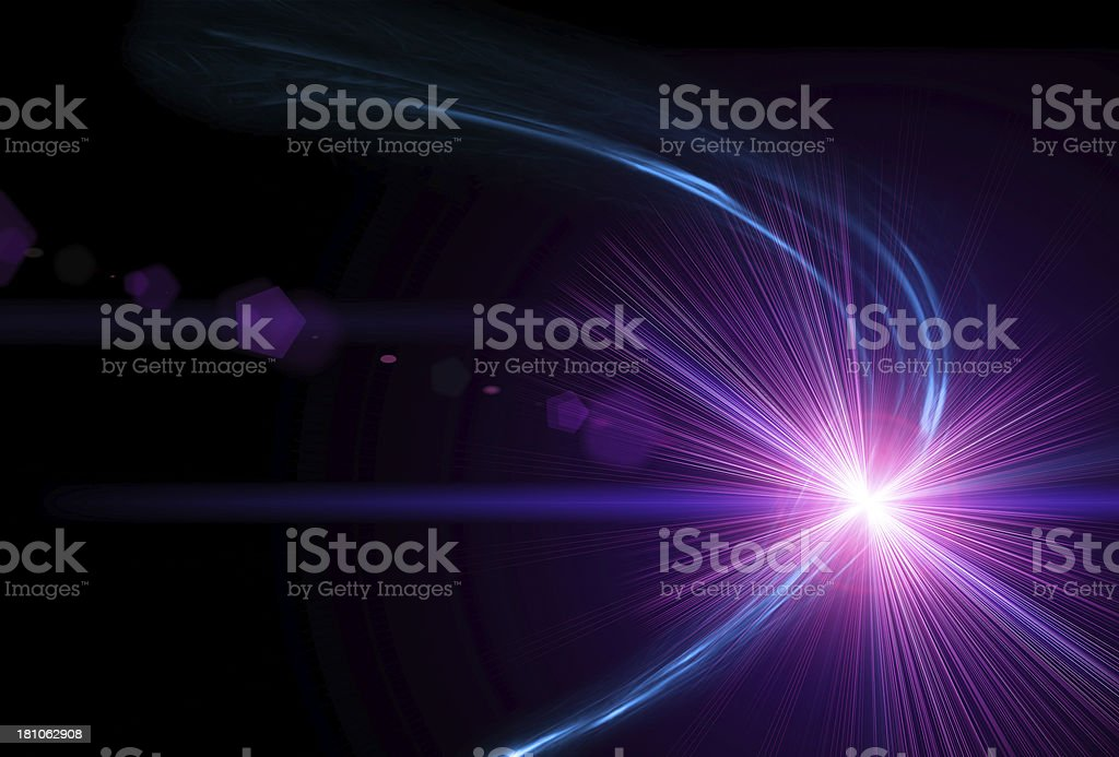 Abstract Light royalty-free stock photo