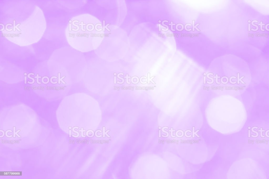 Abstract lilac background with white spots and stripes stock photo