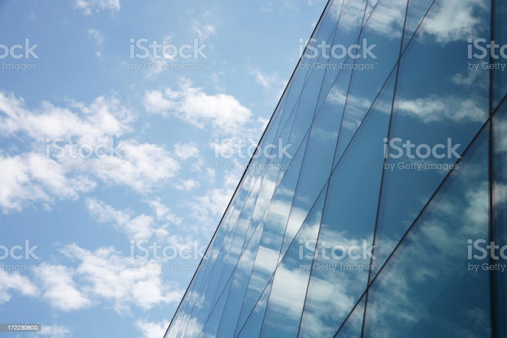 Abstract London Office royalty-free stock photo