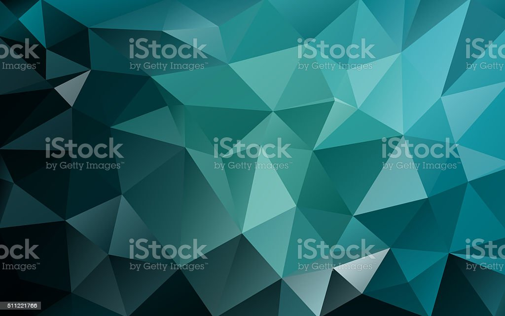 Abstract low poly background, geometry triangle stock photo