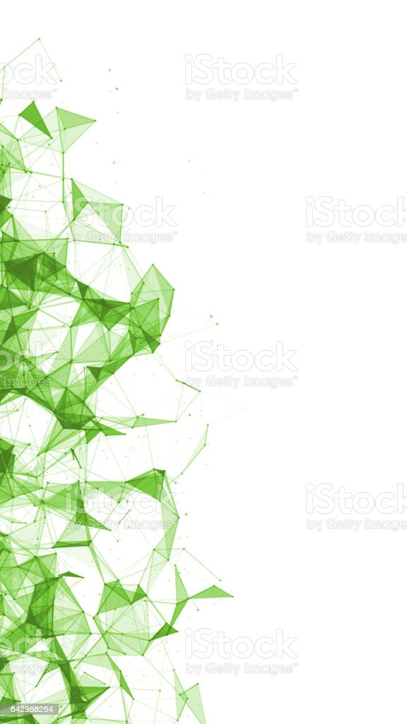 Abstract Low Polygon Background stock photo
