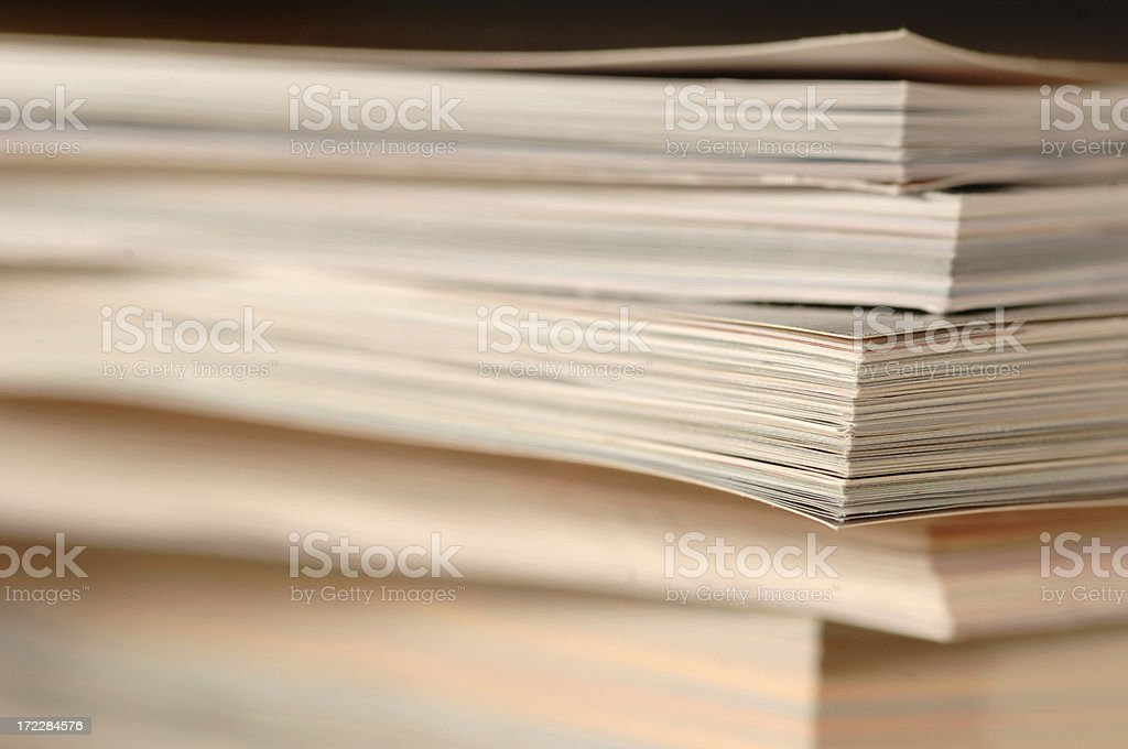 abstract magazine series royalty-free stock photo