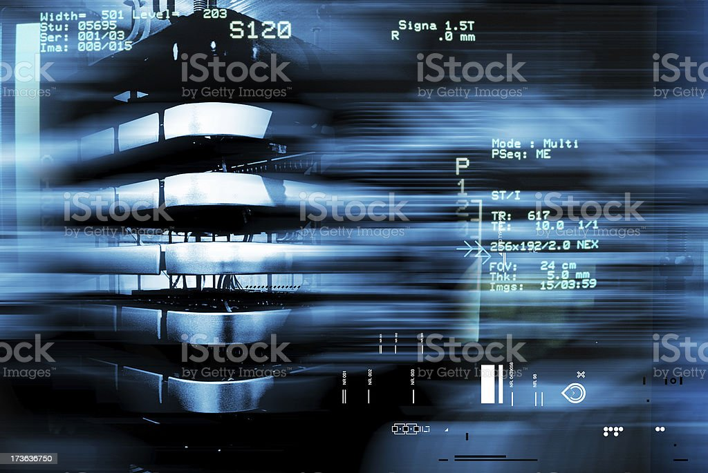 abstract mechanical royalty-free stock photo