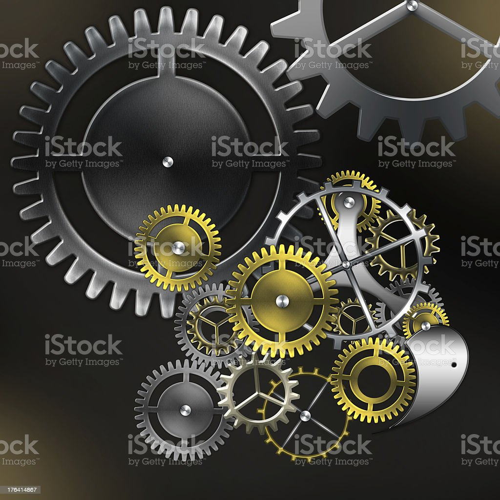 abstract mechanism royalty-free stock photo