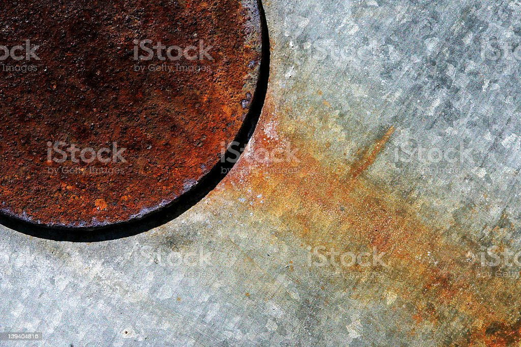 Abstract Metal royalty-free stock photo