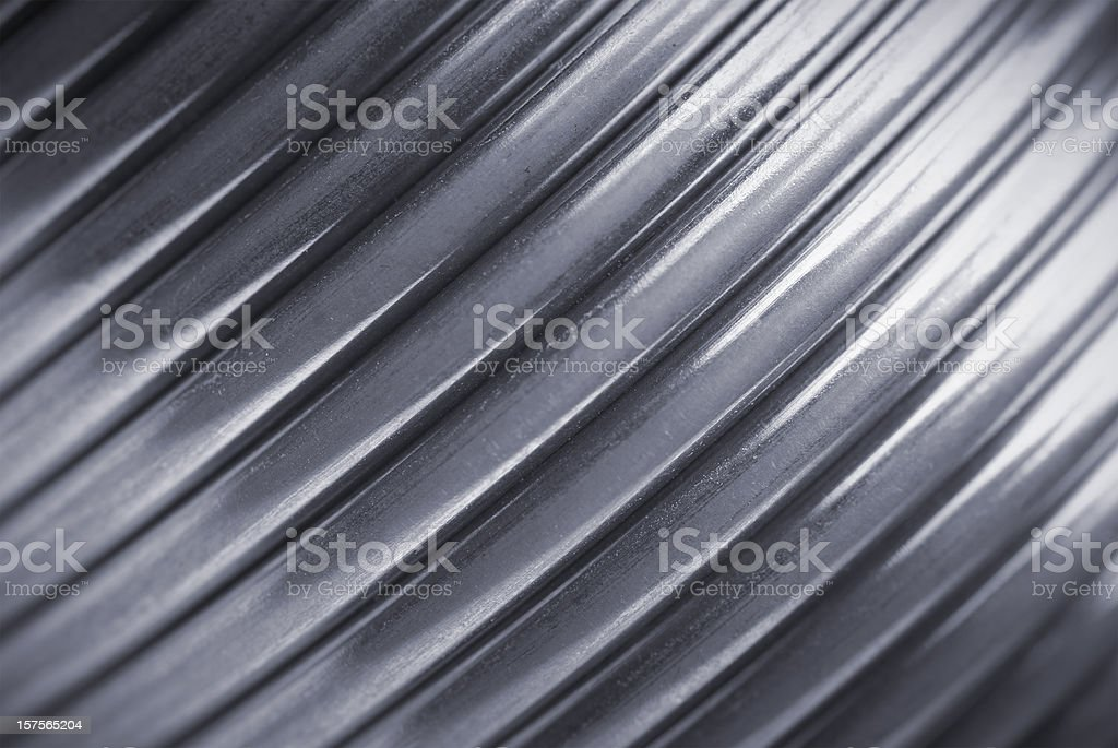 Abstract metal spring stock photo