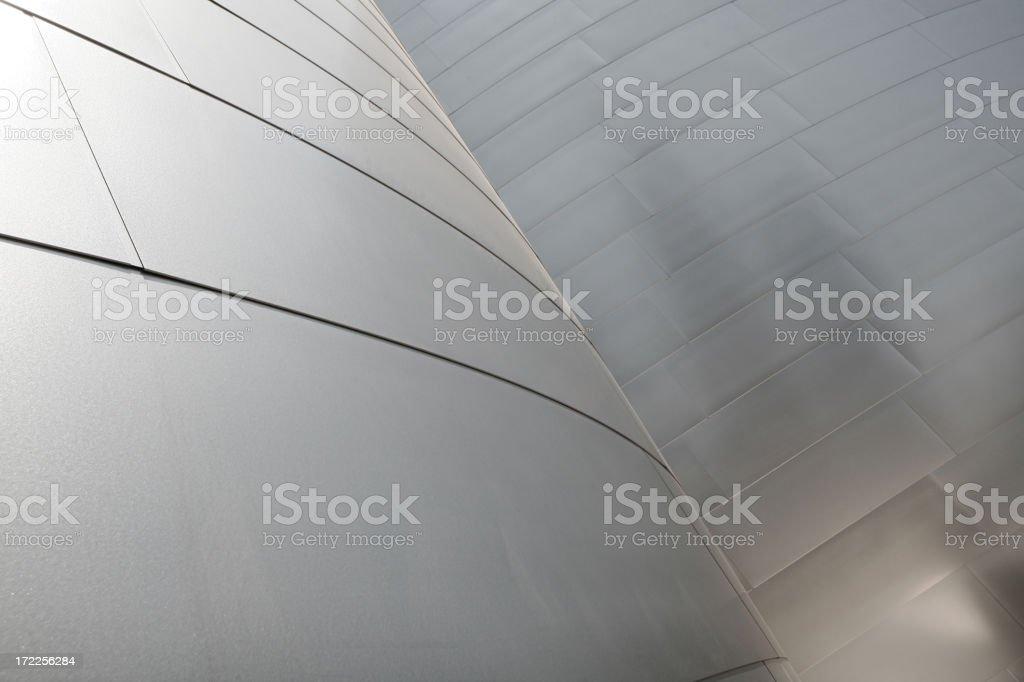 Abstract Metal Walls royalty-free stock photo