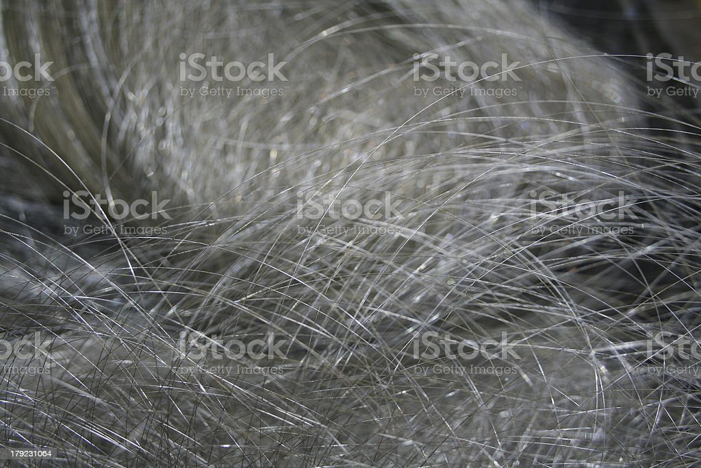 abstract metal wire royalty-free stock photo