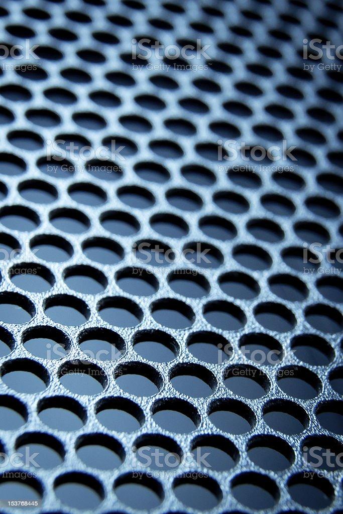 abstract metallic grid royalty-free stock photo