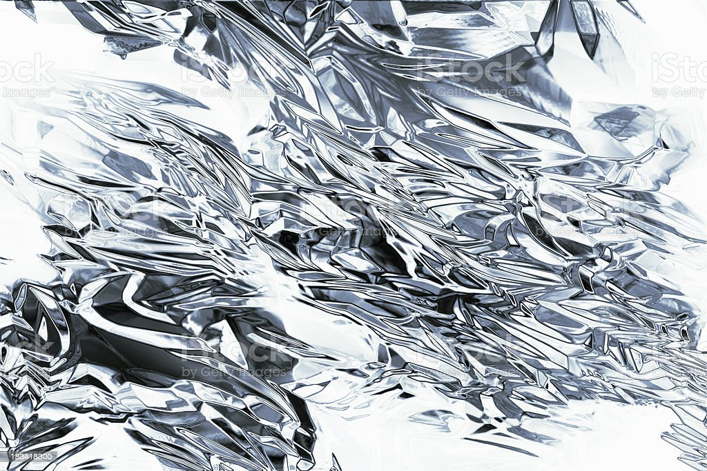 Abstract metallic silver background royalty-free stock photo