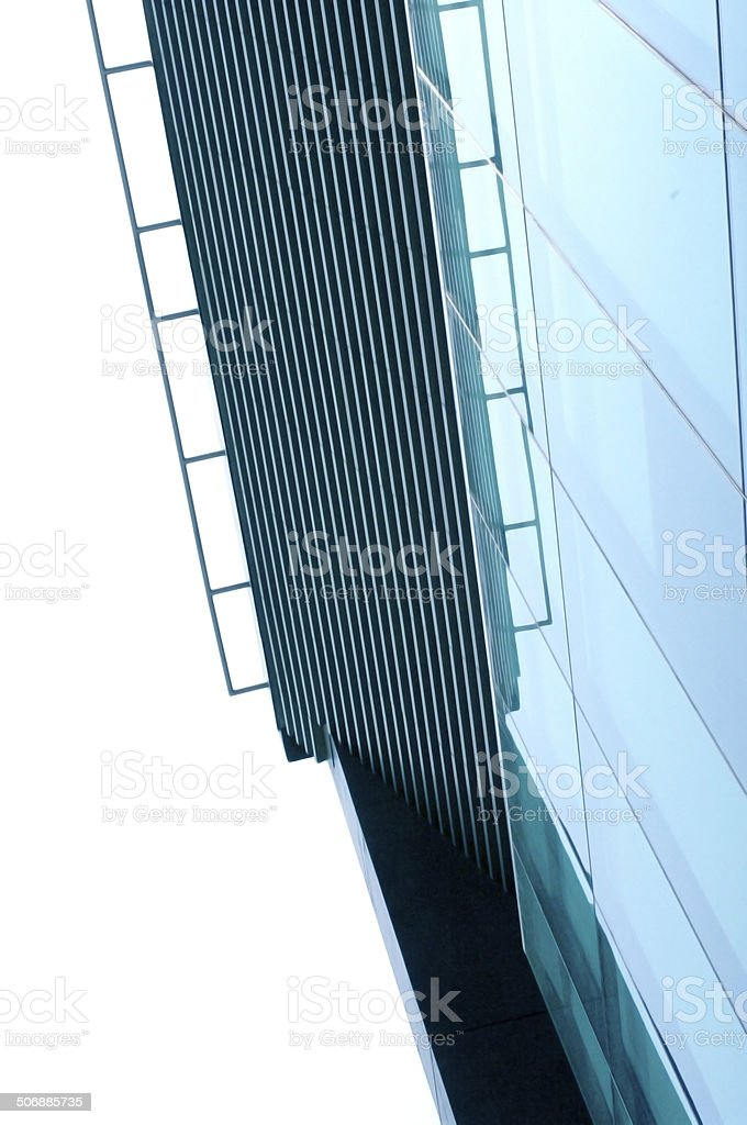 abstract modern building background stock photo