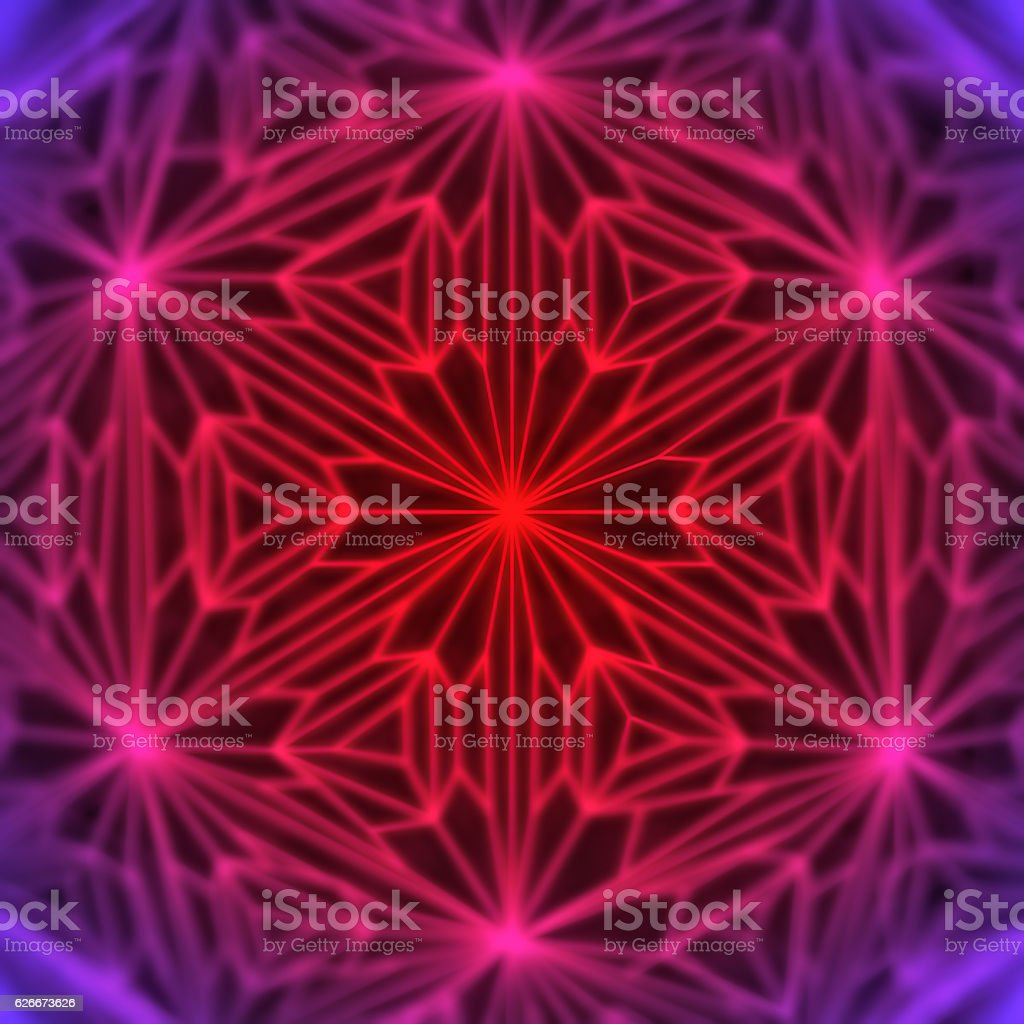 Abstract modern red glowing wire background 3d rendering stock photo
