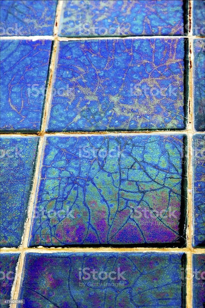 abstract mosaic piece of  ceramics royalty-free stock photo