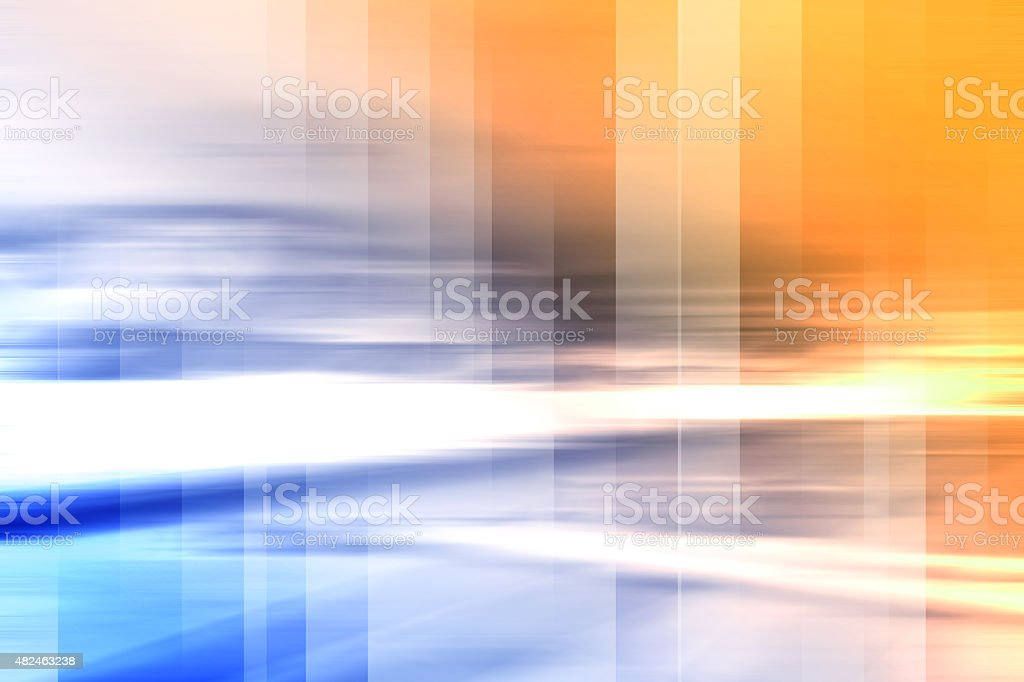 Abstract Motion Blurred Background stock photo