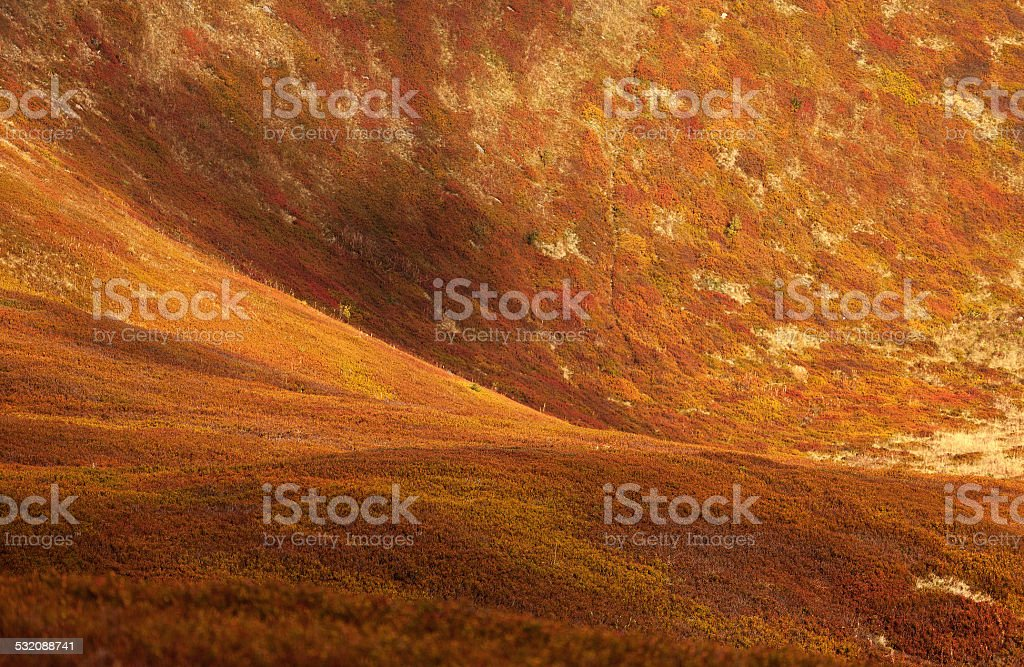 Abstract mountainside. stock photo