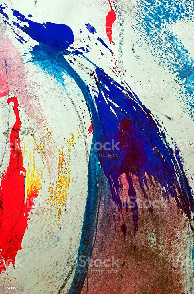 Abstract movement stock photo