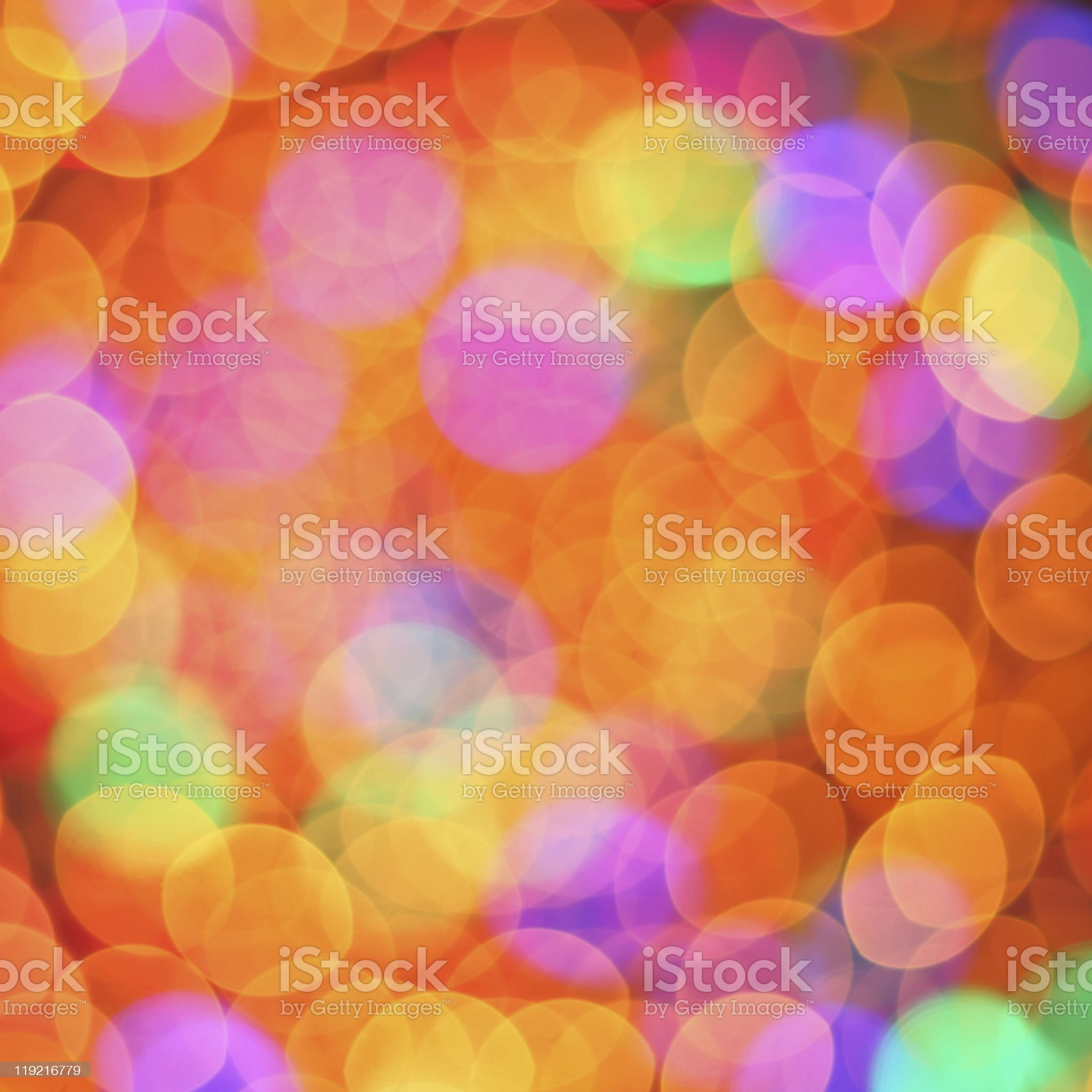 Abstract multi-colored bokeh photography royalty-free stock photo