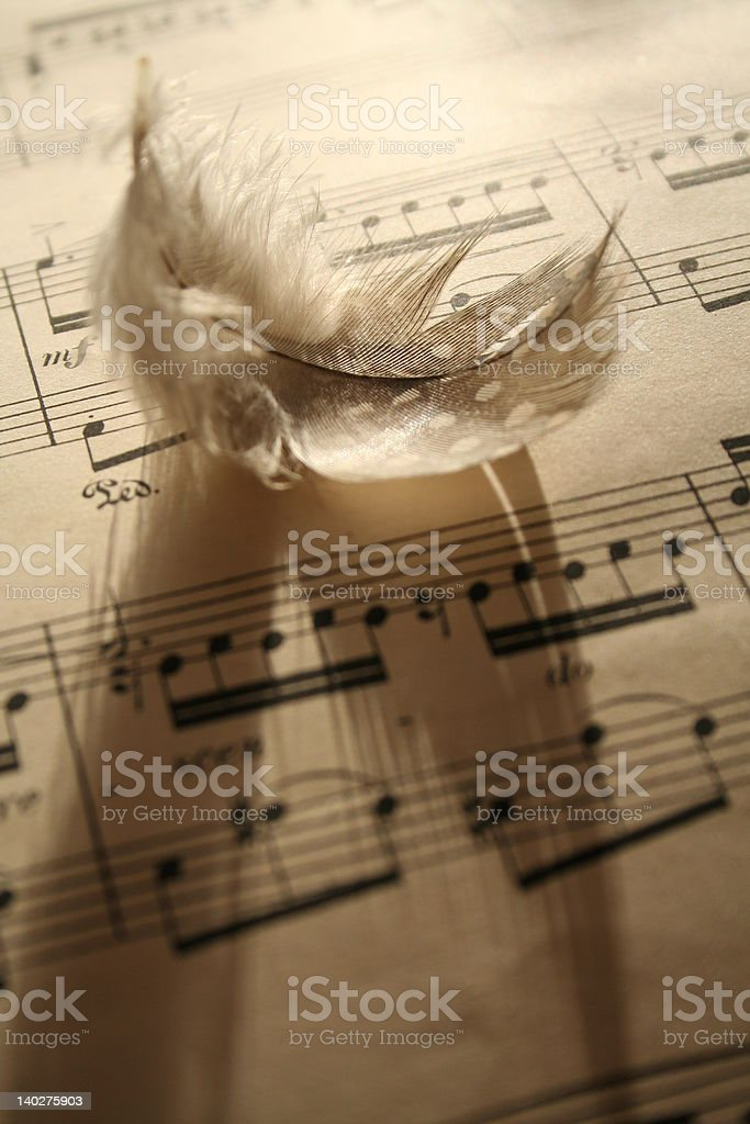 Abstract music 2 royalty-free stock photo