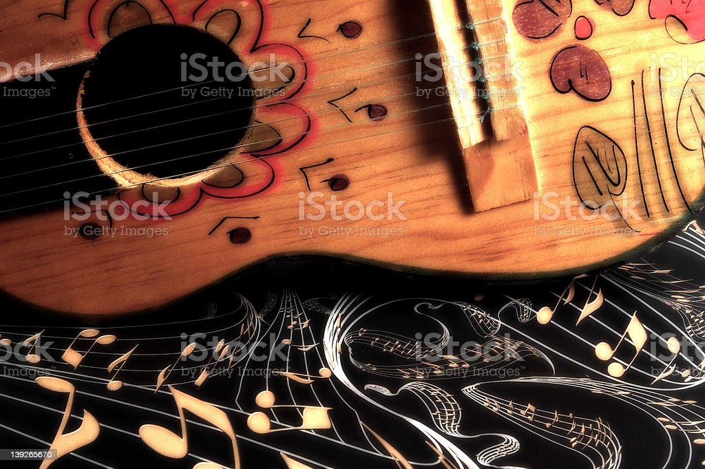 Abstract Music royalty-free stock photo
