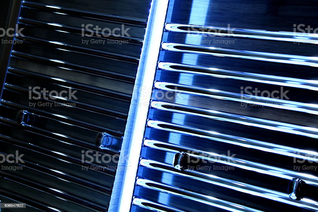 Abstract neon background stock photo