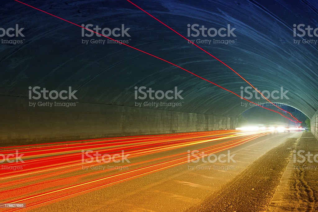 abstract night acceleration speed motion royalty-free stock photo