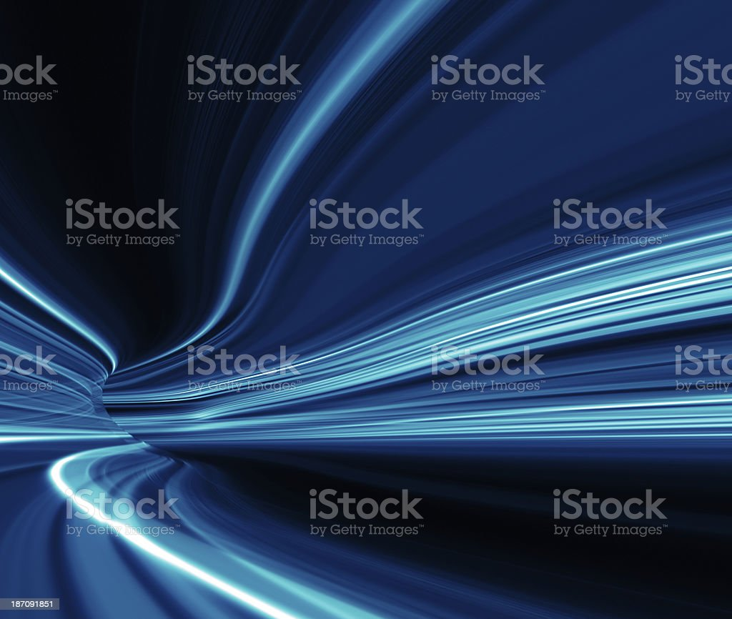 abstract night acceleration speed motion stock photo