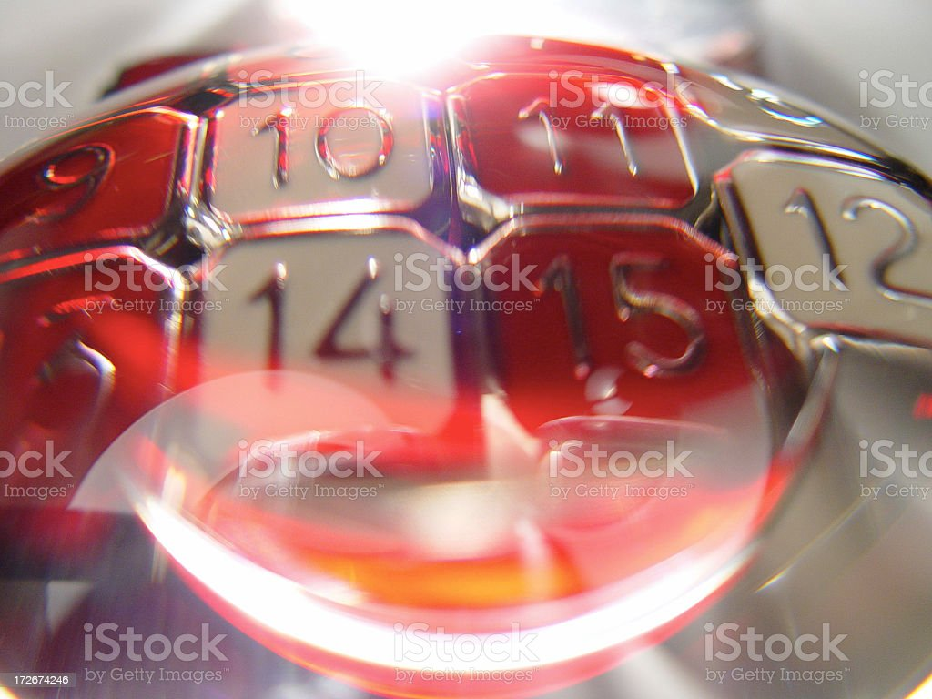 abstract numbers stock photo