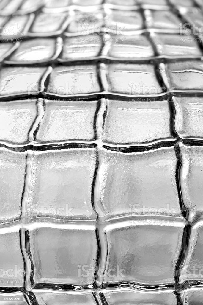 abstract of a crystal vase royalty-free stock photo