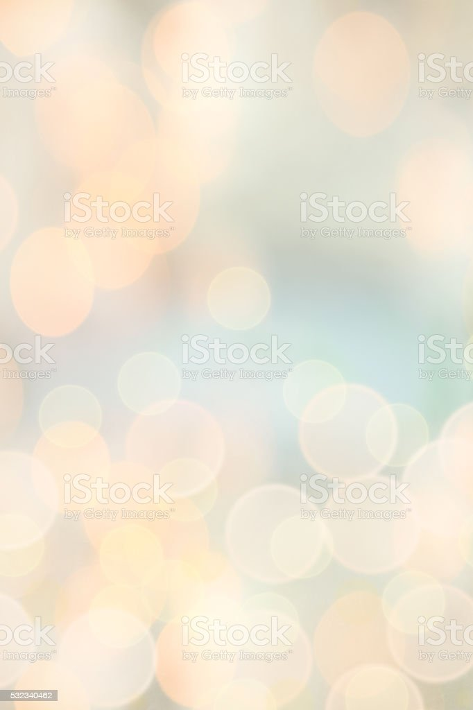 Abstract of Bokeh Lights stock photo