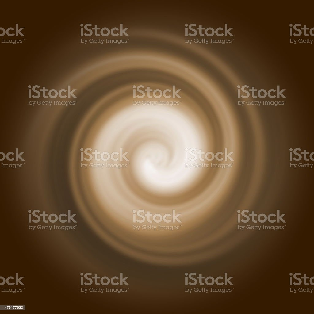 Abstract of Cappuccino. stock photo