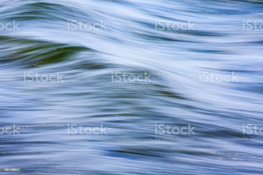 Abstract of Flowing Water royalty-free stock photo
