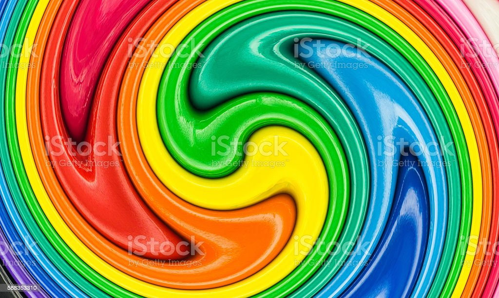 abstract of twirl colorful stock photo