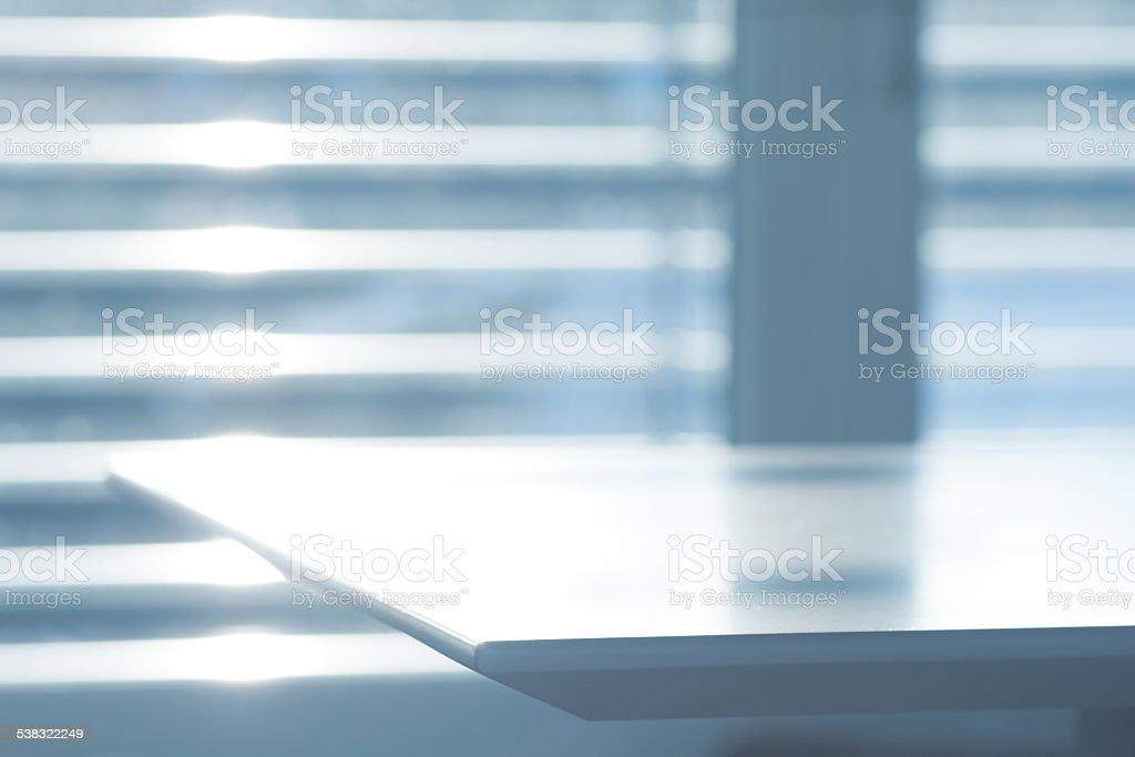 Abstract office scene stock photo