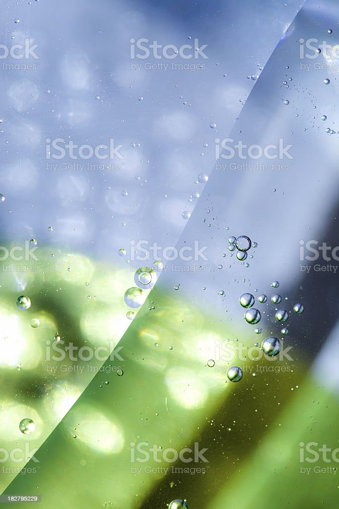 Abstract Oil Pattern royalty-free stock photo