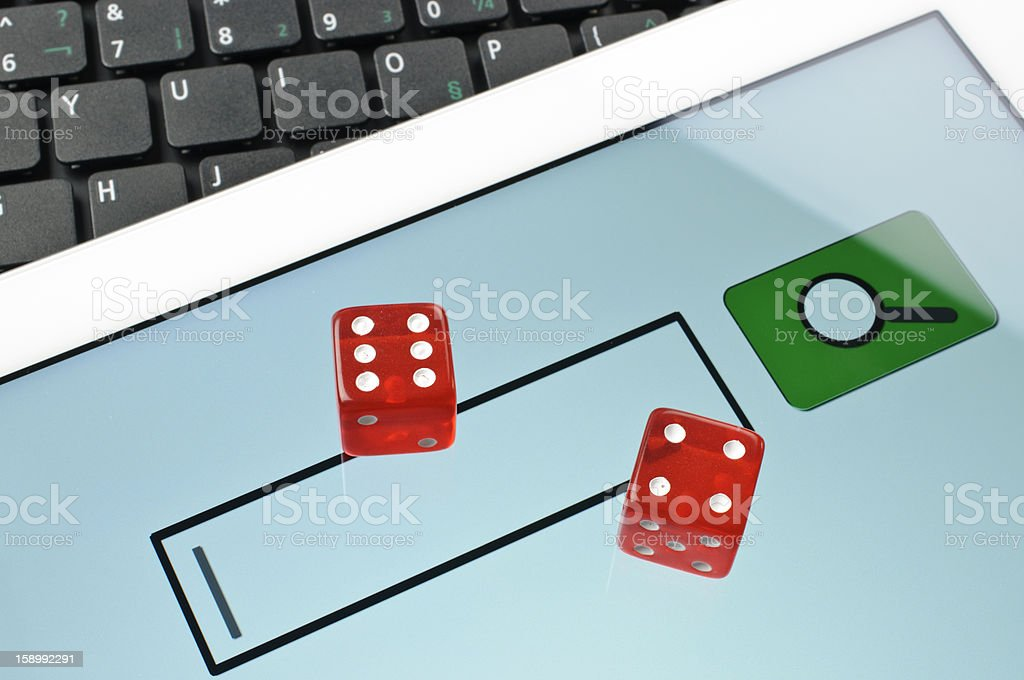 Abstract online game royalty-free stock photo