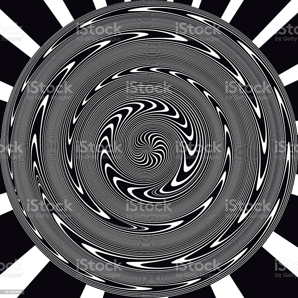abstract optical black and white effect stock photo