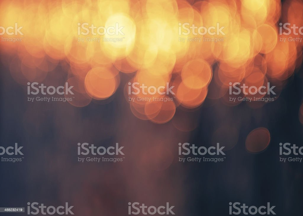 Abstract orange and black broken background stock photo