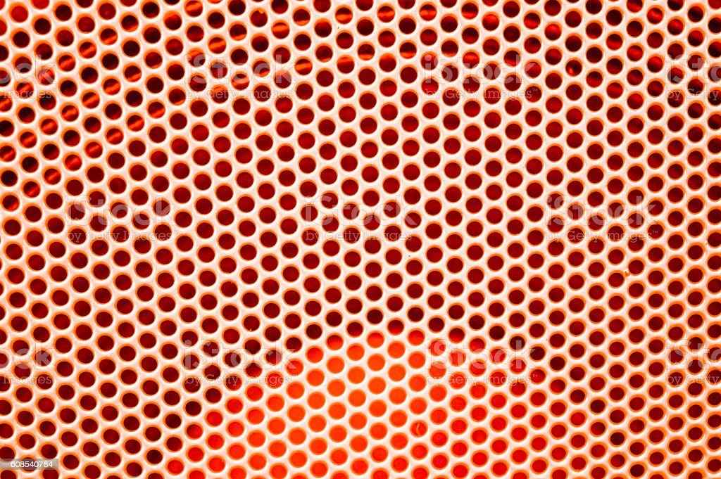 abstract orange dots pattern background stock photo