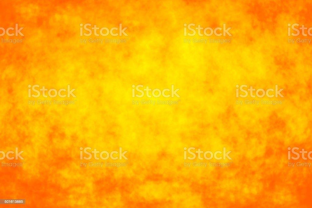 Abstract orange fire bokeh background stock photo