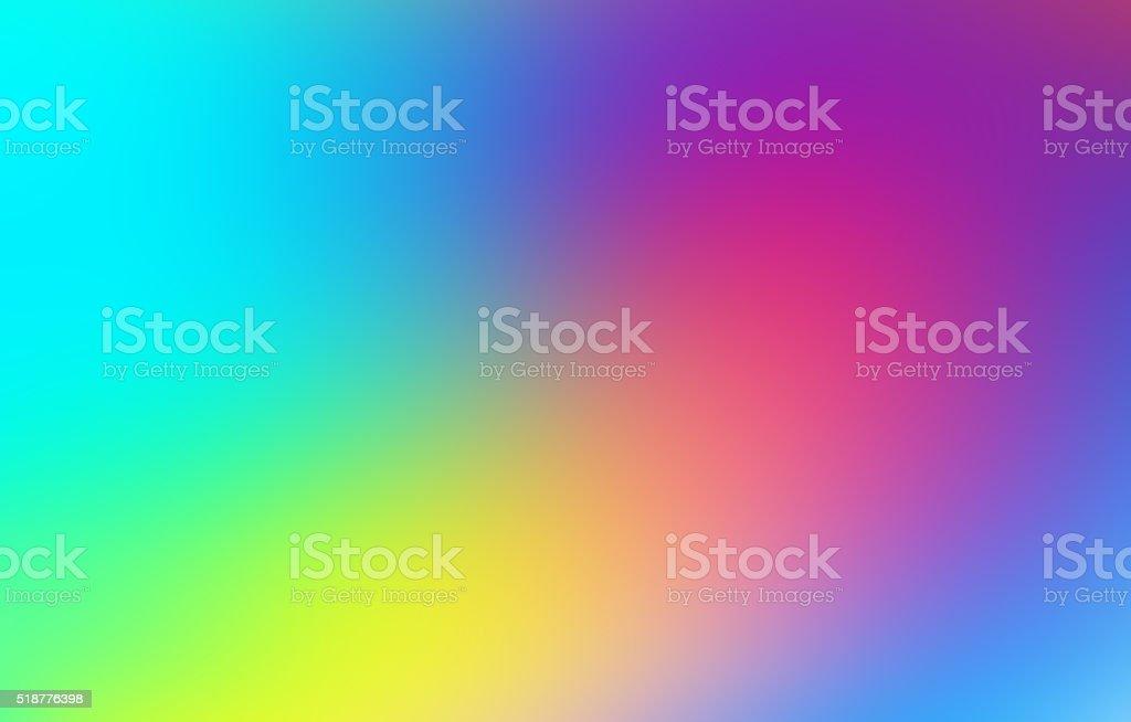Abstract Orange Green Yellow Blue Purple Background stock photo