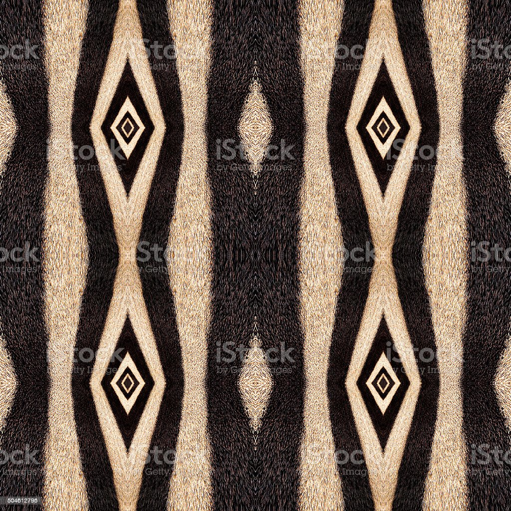 Abstract oriental seamless background of zebra stripes. stock photo